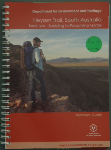 heysen trail south australia - northern guide