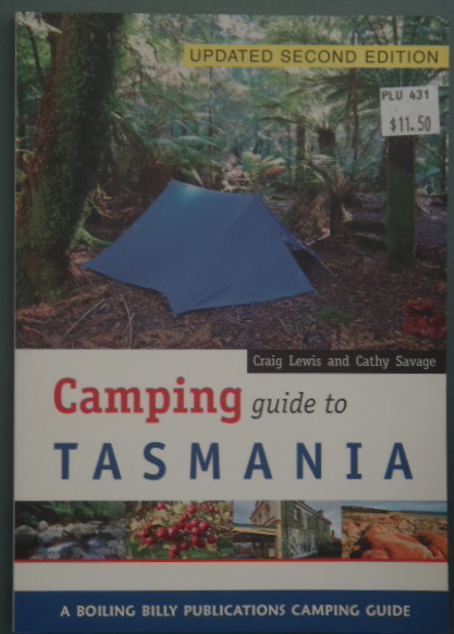 camping guide to tasmania - 2nd ed